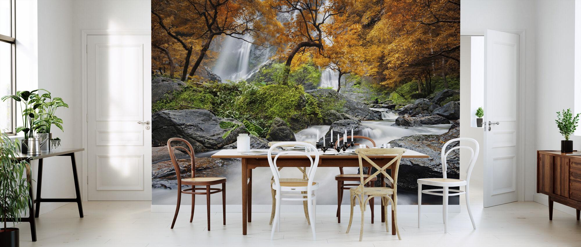 Autumn Waterfall - Wallpaper - Kitchen