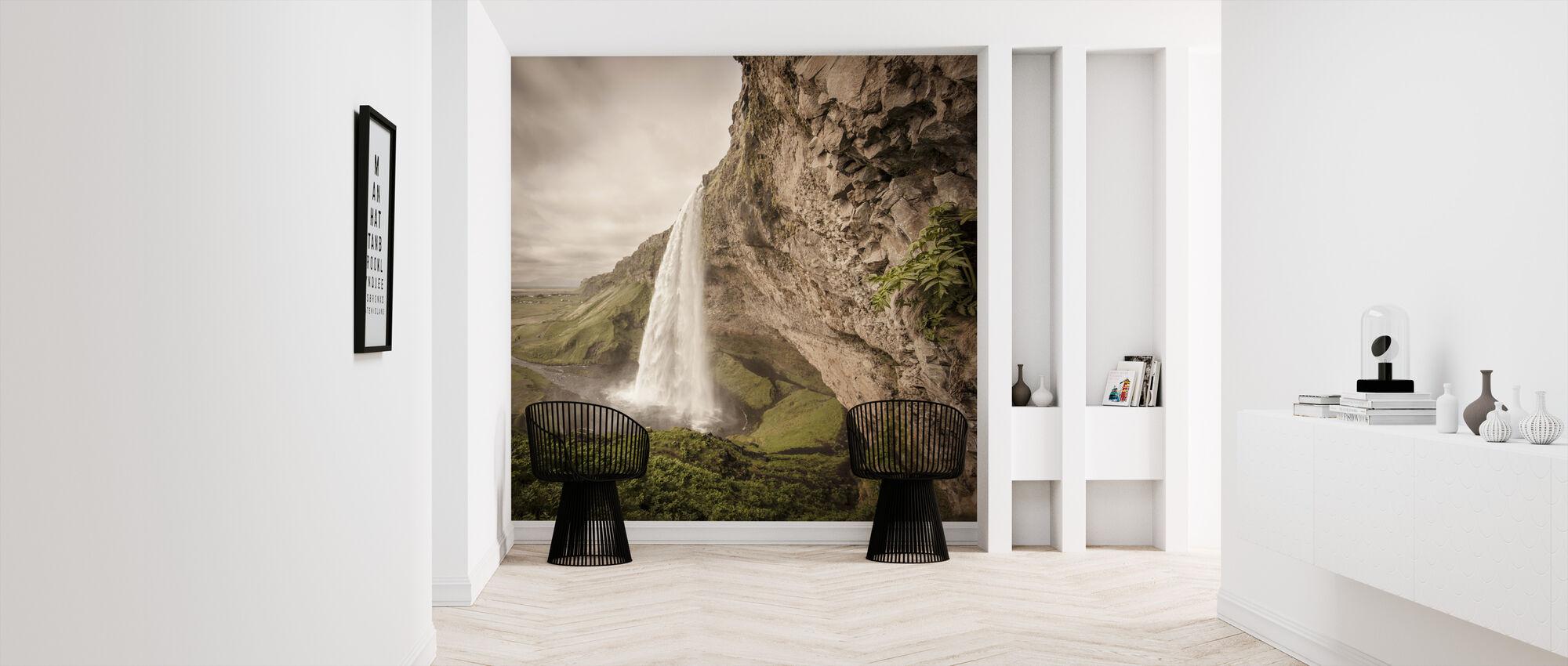 The Power of Seljalandsfoss - Wallpaper - Hallway