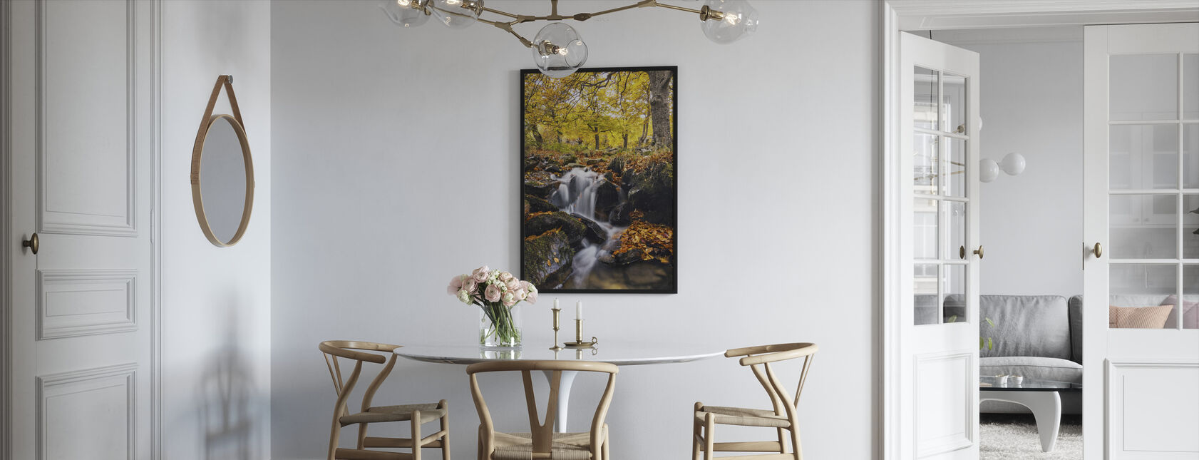 Spatten van de herfst - Ingelijste print - Keuken