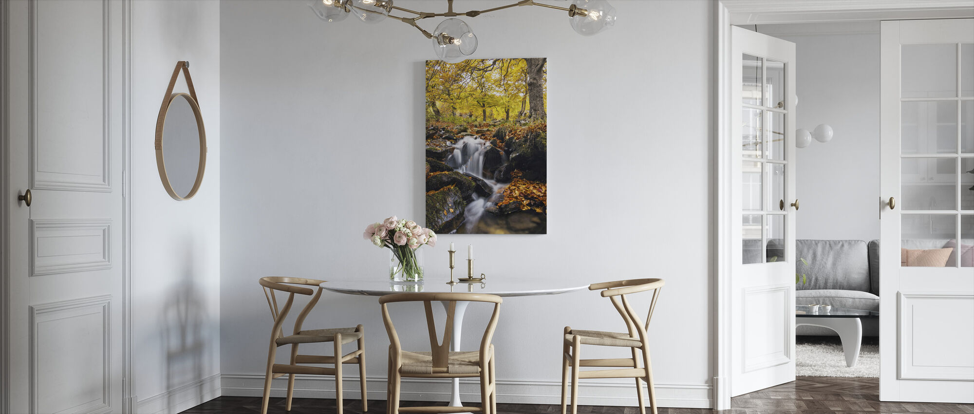 Splashes of Autumn - Canvas print - Kitchen