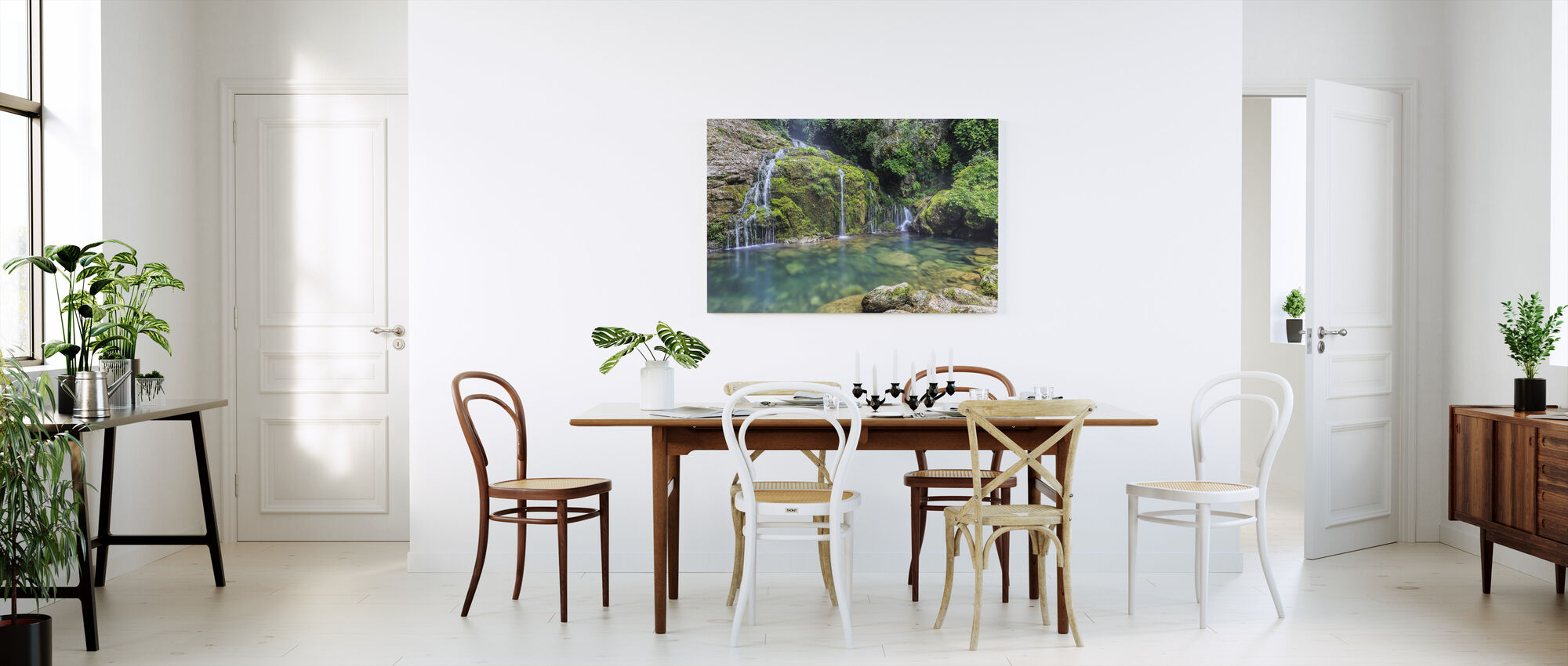 Water from the Mountain - Canvas print - Kitchen