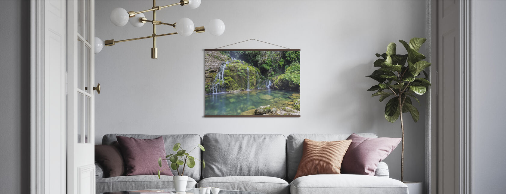 Water from the Mountain - Poster - Living Room