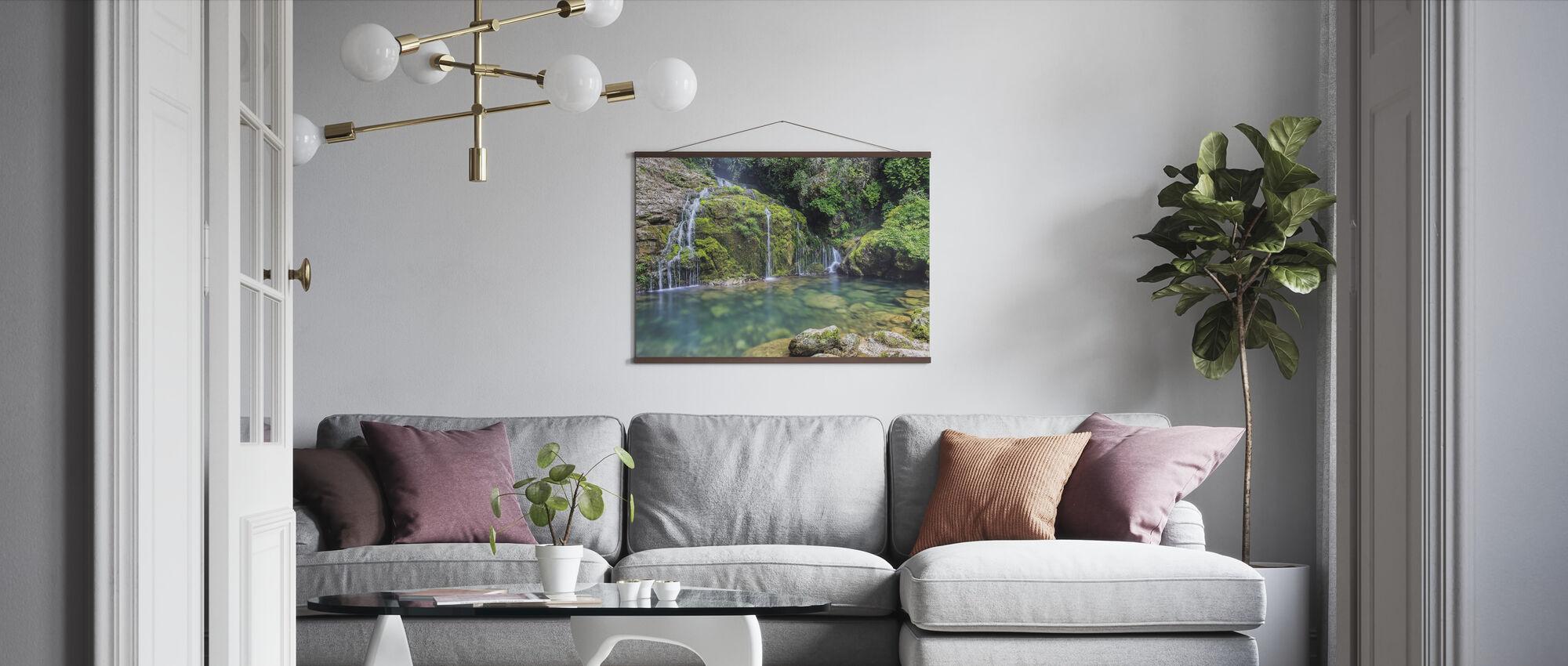 Vatten från berget - Poster - Vardagsrum