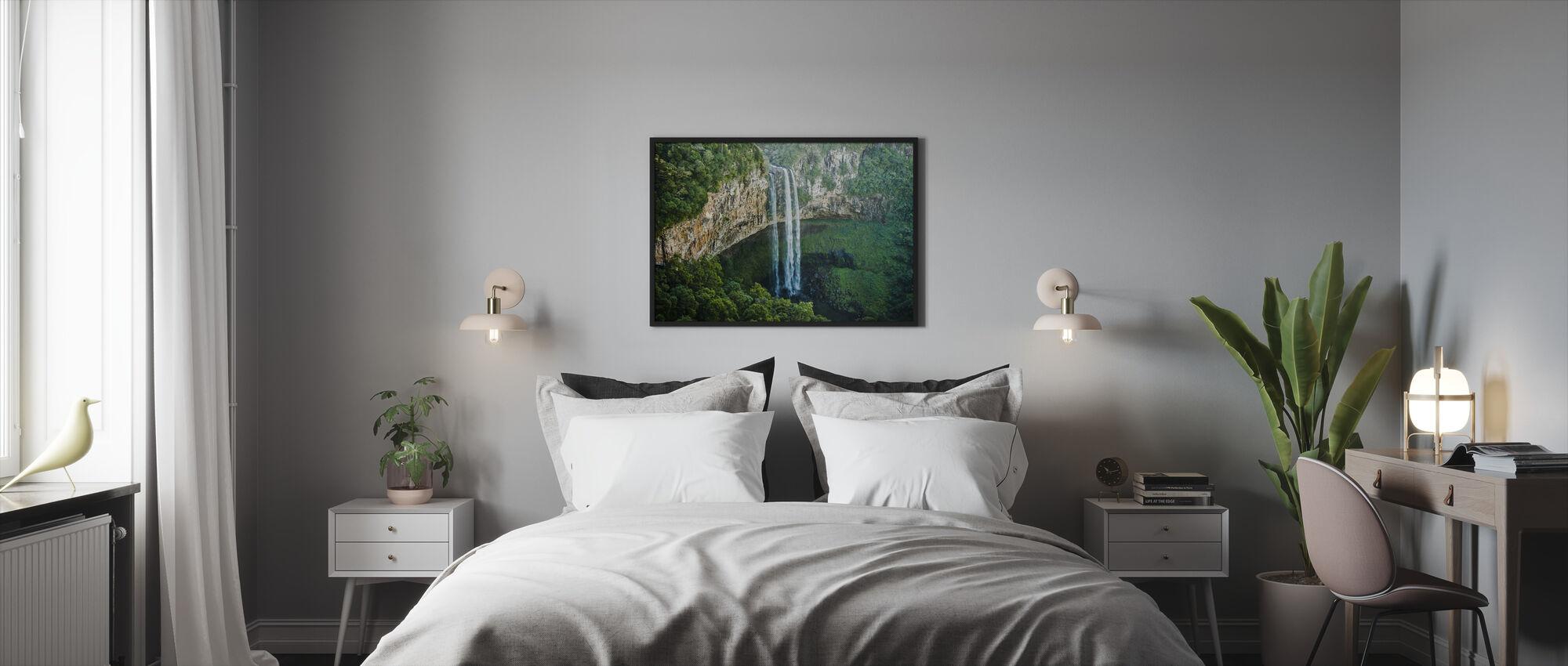 Hoge Duik - Ingelijste print - Slaapkamer