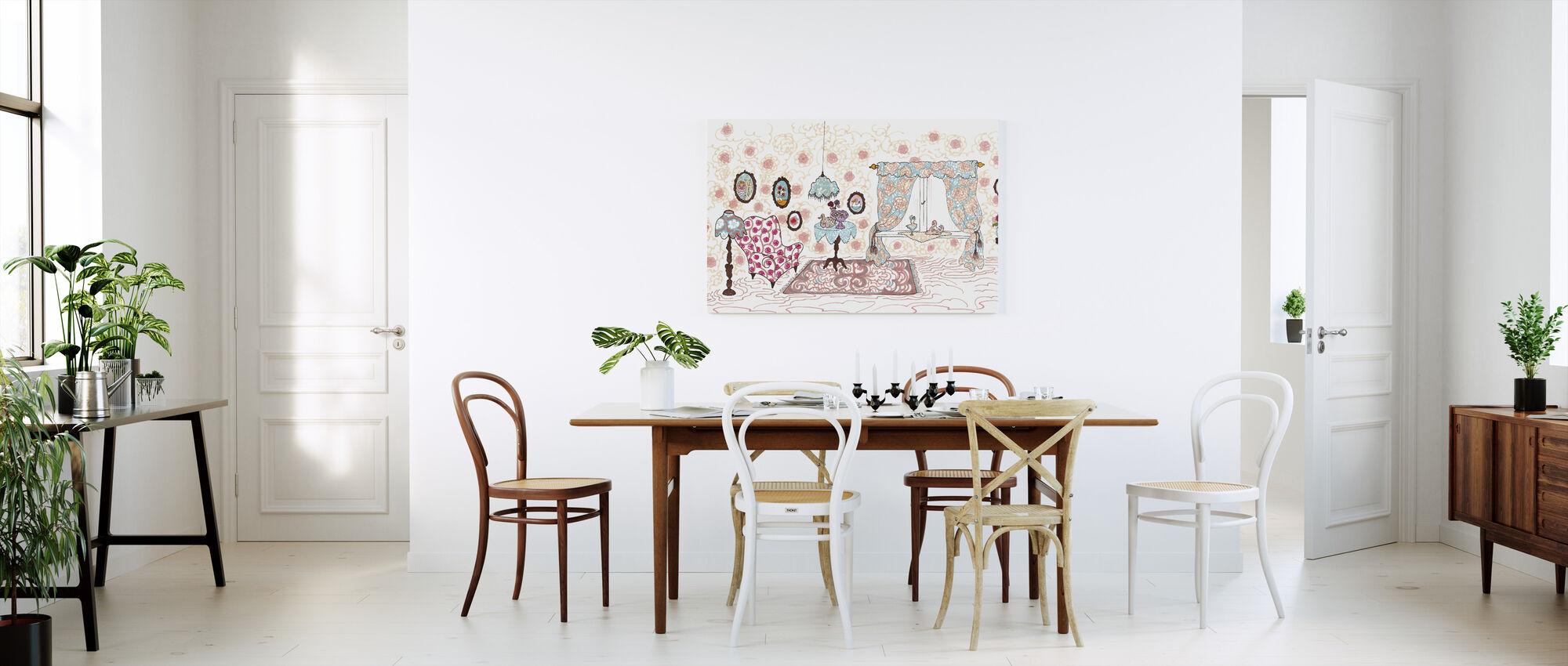 Nallegris hus - Impression sur toile - Cuisine