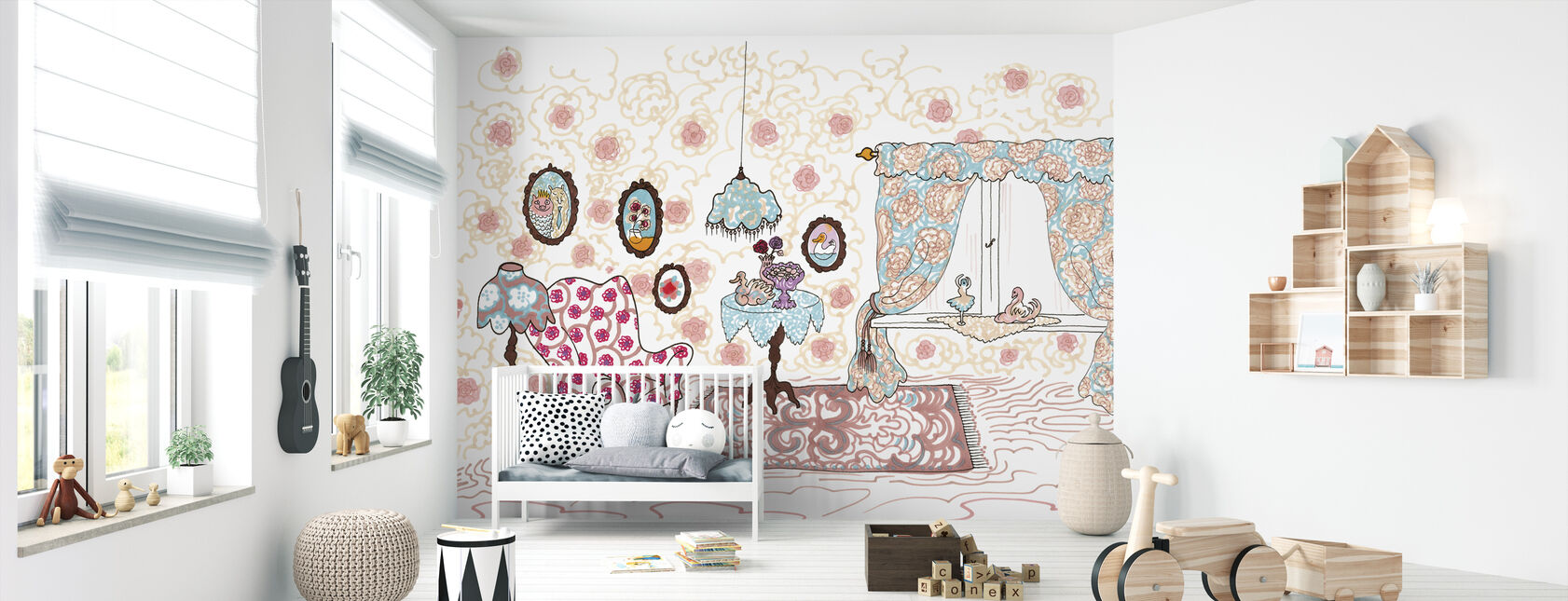 Nallegris hus - Wallpaper - Nursery