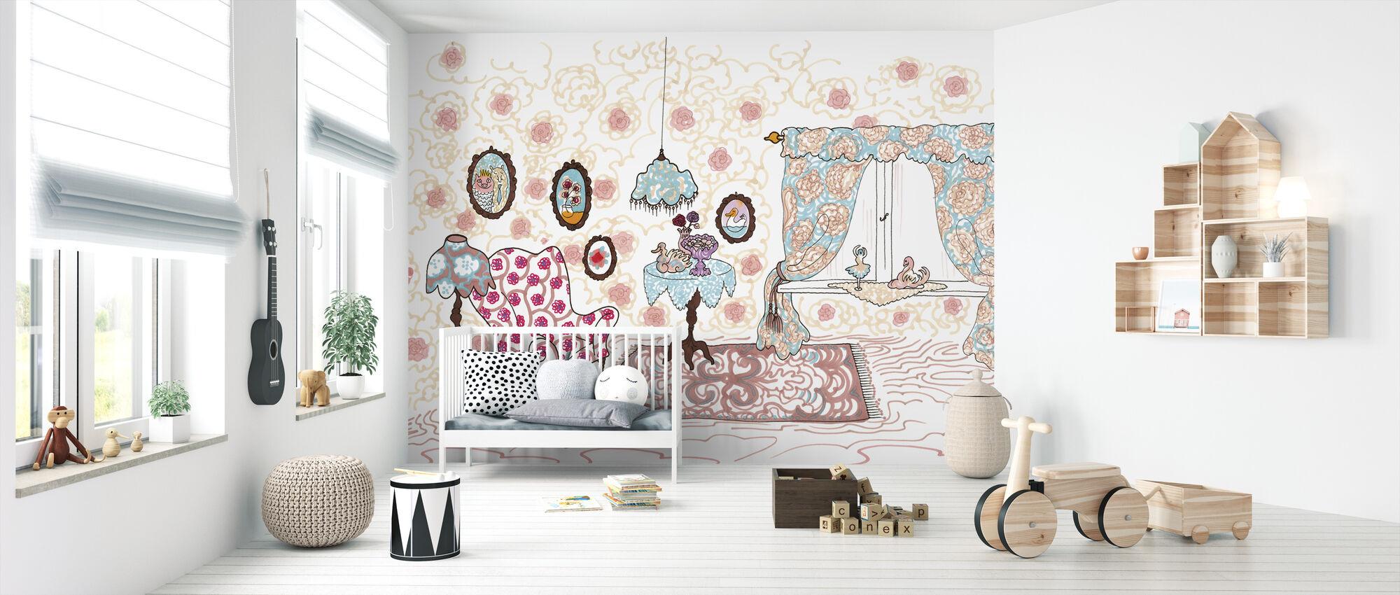 Nallegris hus - Wallpaper - Nursery