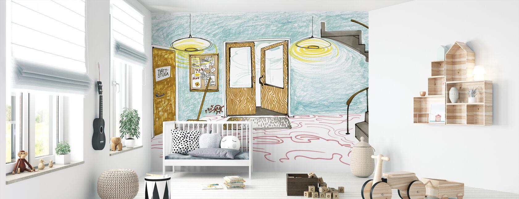 Stairway enclosures - Wallpaper - Nursery