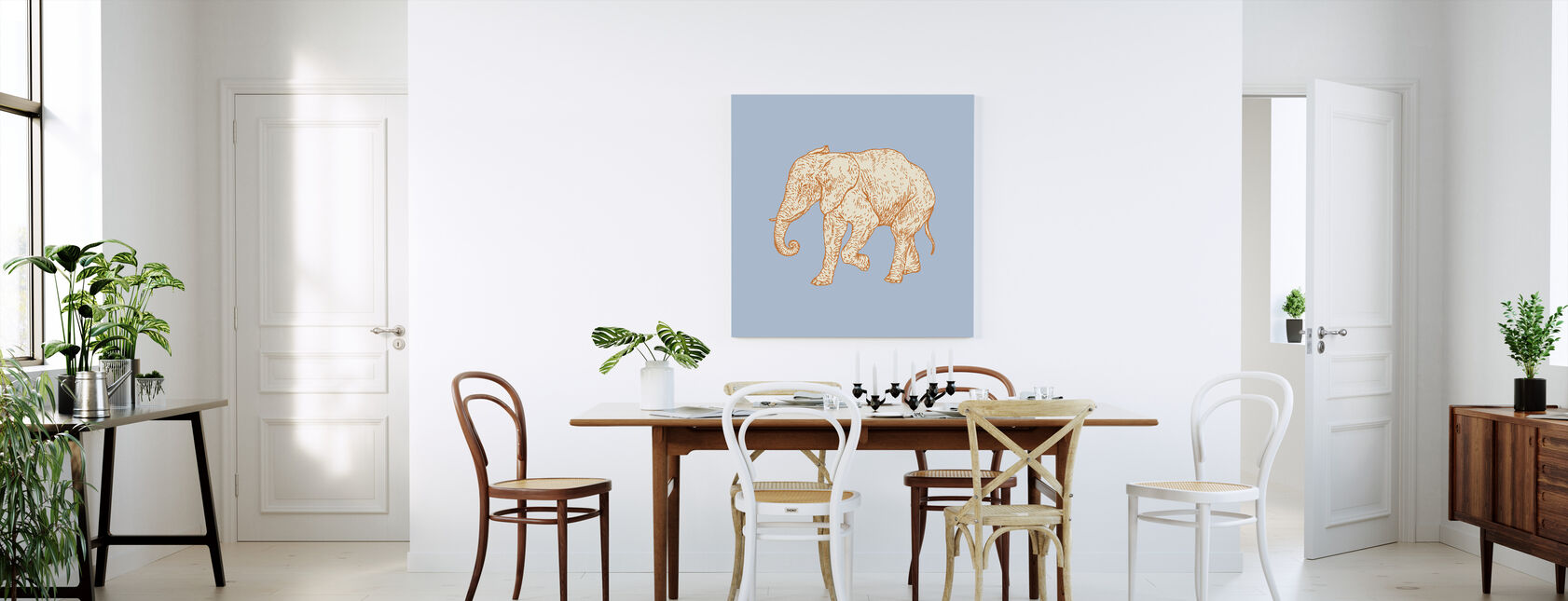 Elephant Cookie - Canvas print - Kitchen