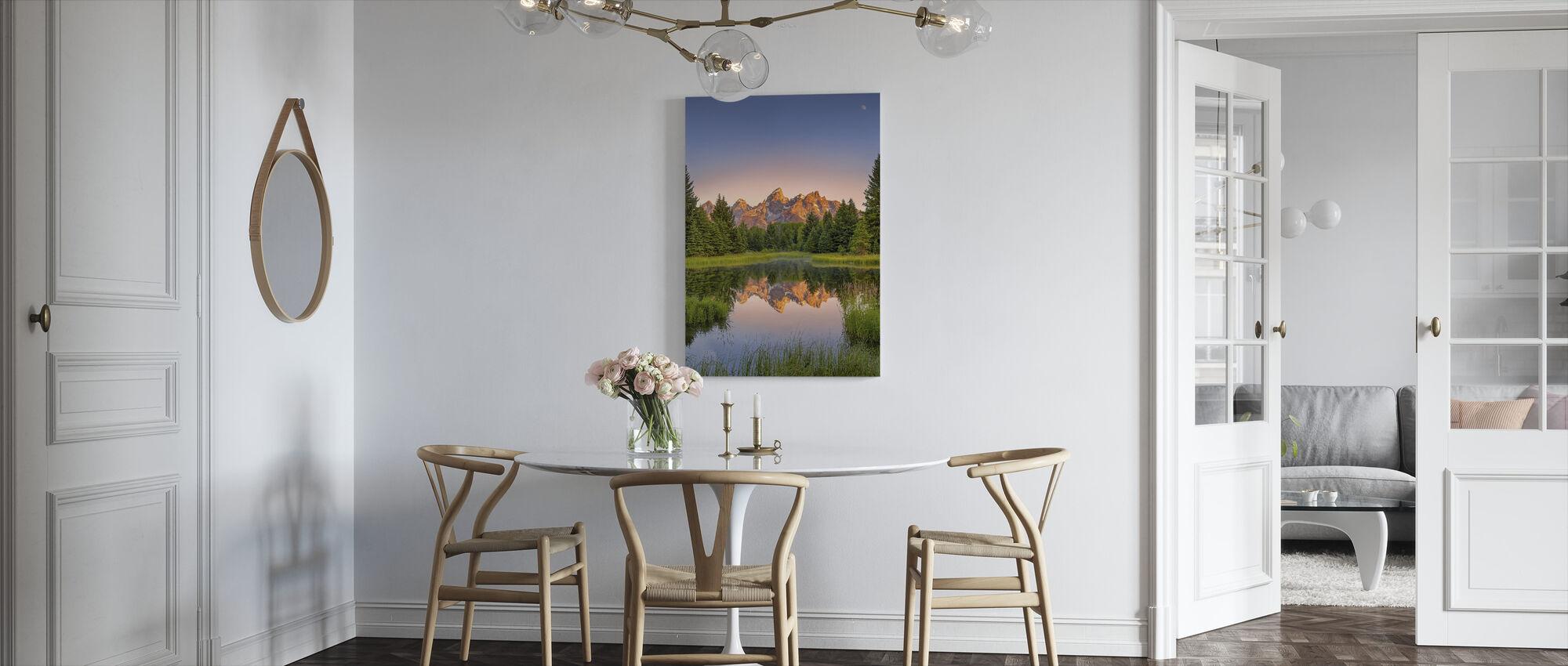 Dawn at Schwabacher's Landing - Canvas print - Kitchen