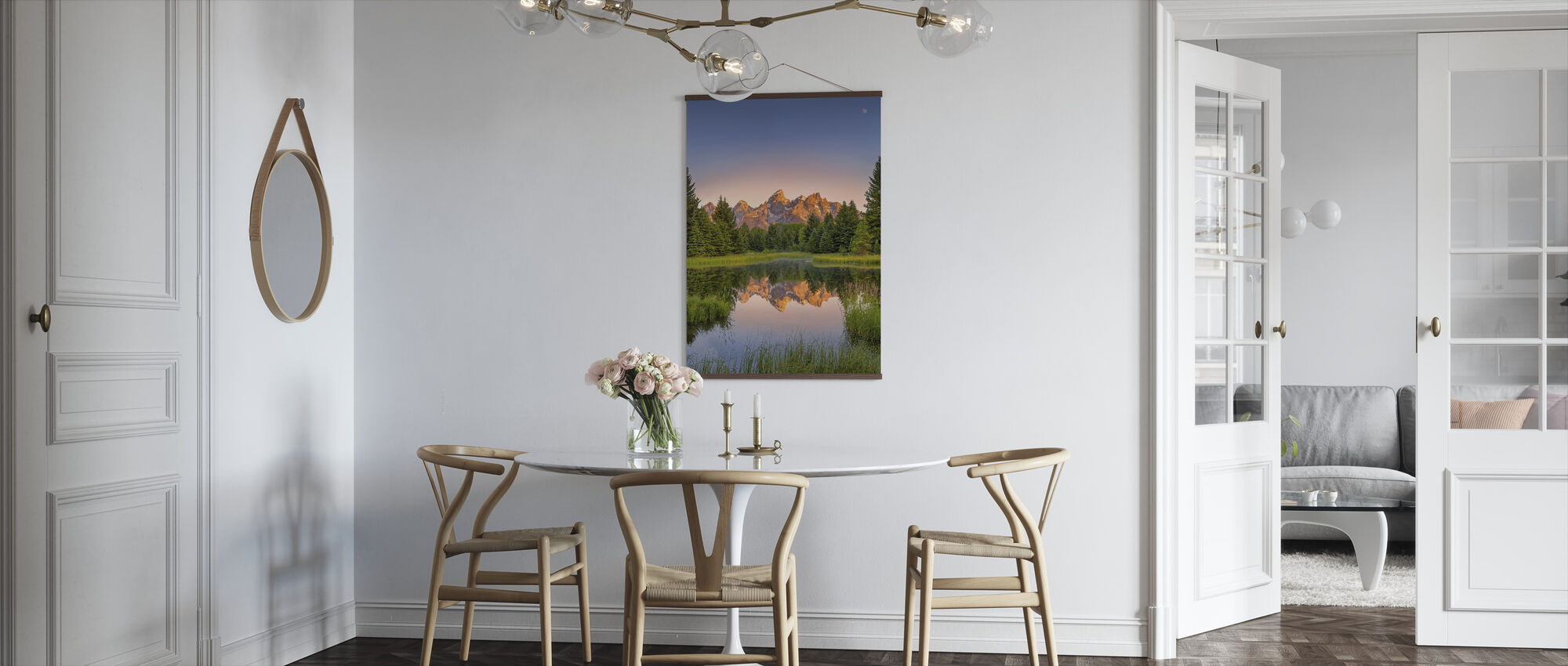 Dawn at Schwabacher's Landing - Poster - Kitchen