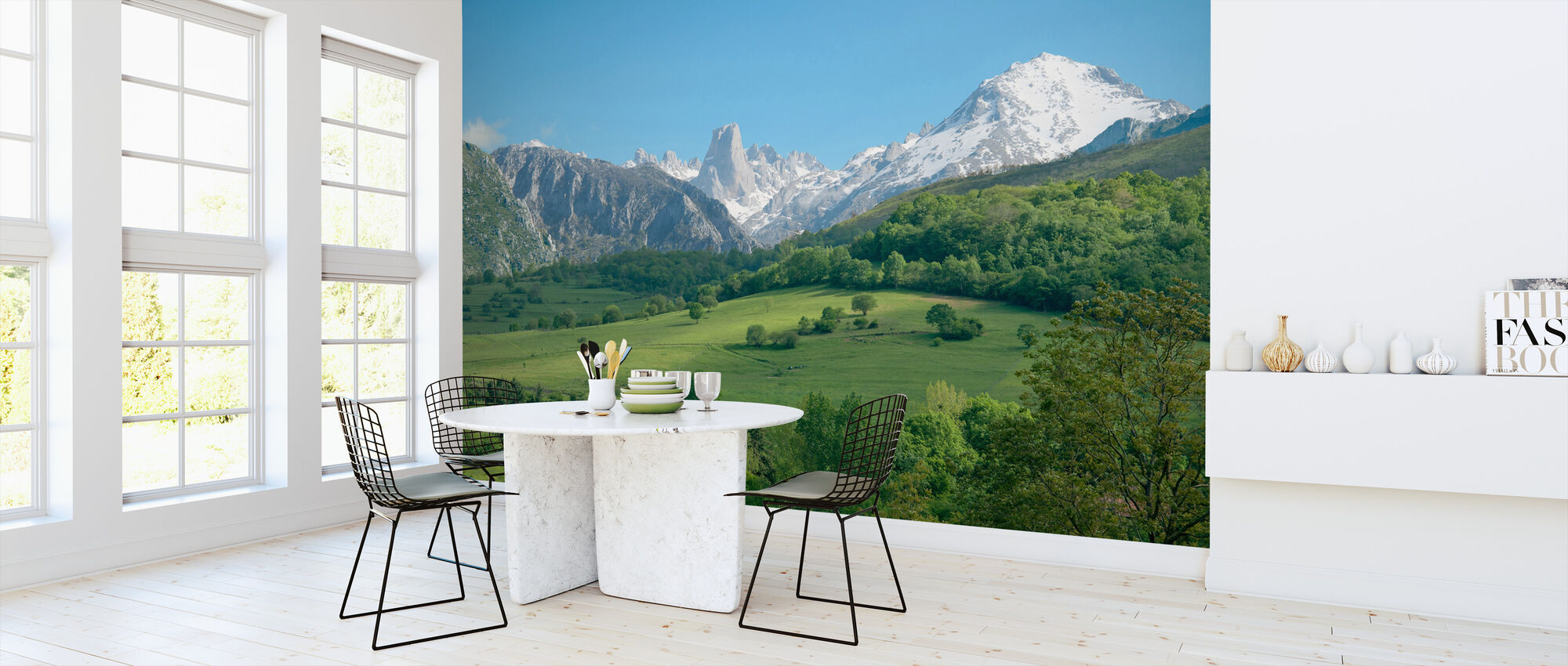 Great Limestone Peak - Wallpaper - Kitchen