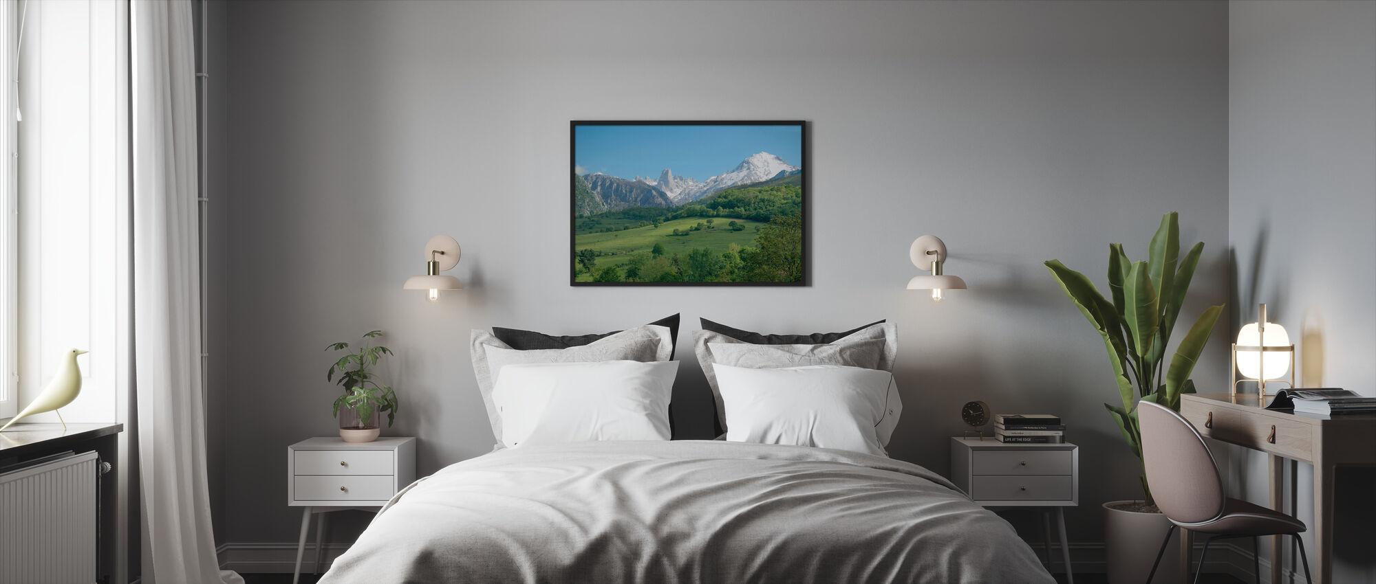 Grote Kalksteenpiek - Ingelijste print - Slaapkamer