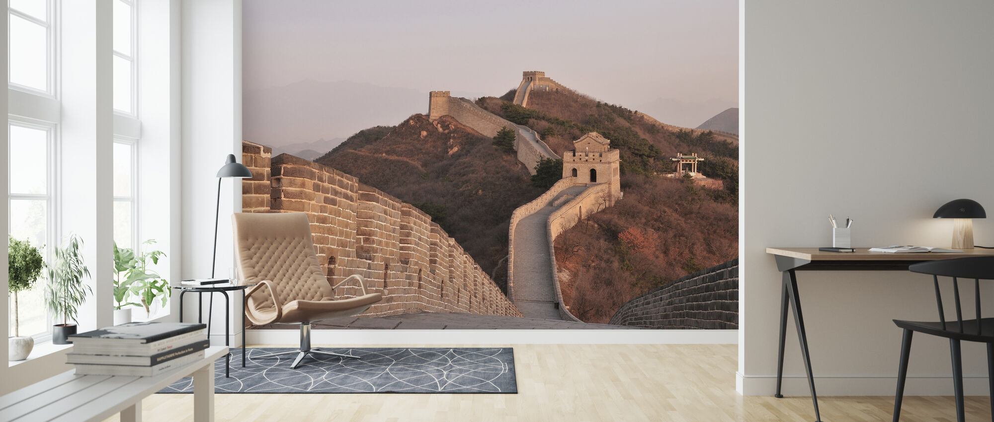 On top of the Great Wall of China - Wallpaper - Living Room