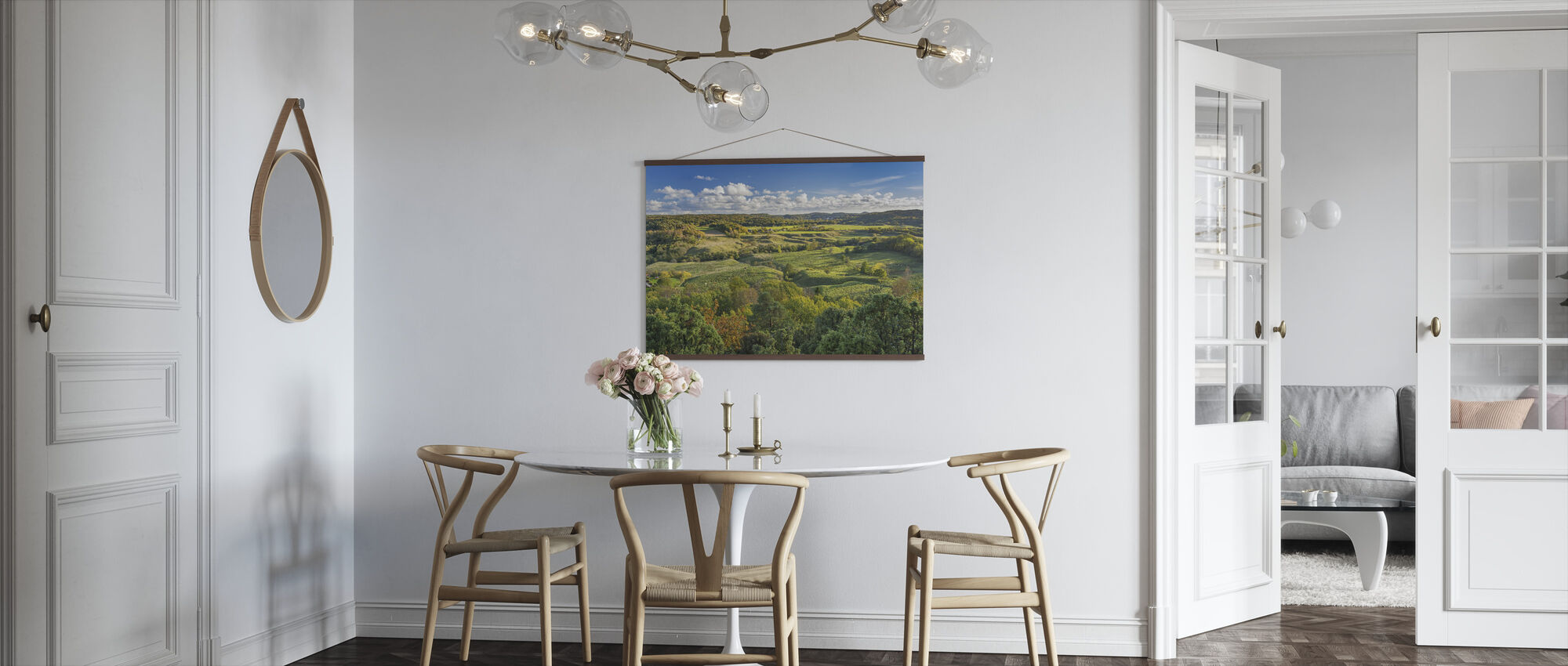 Open Countryside of Sweden - Poster - Kitchen