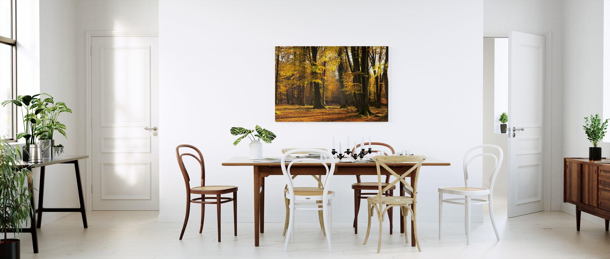 Autumn Scented Woods - Canvas print - Kitchen