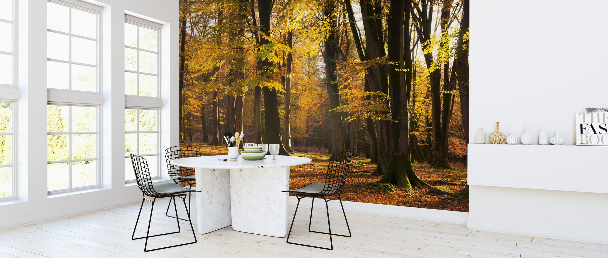 Autumn Scented Woods - Wallpaper - Kitchen