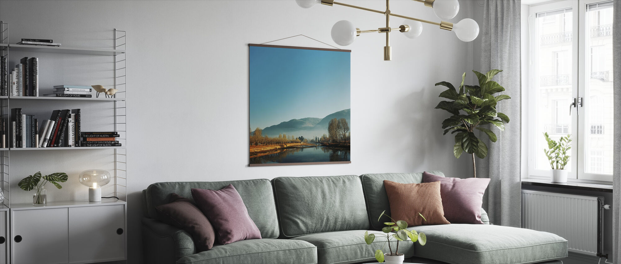 Almost Frosty Morning - Poster - Living Room