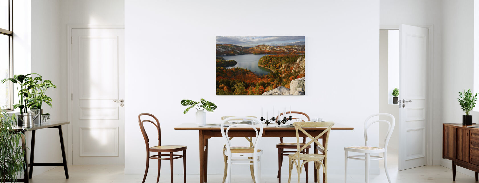 Fall at Killarney Lake - Canvas print - Kitchen