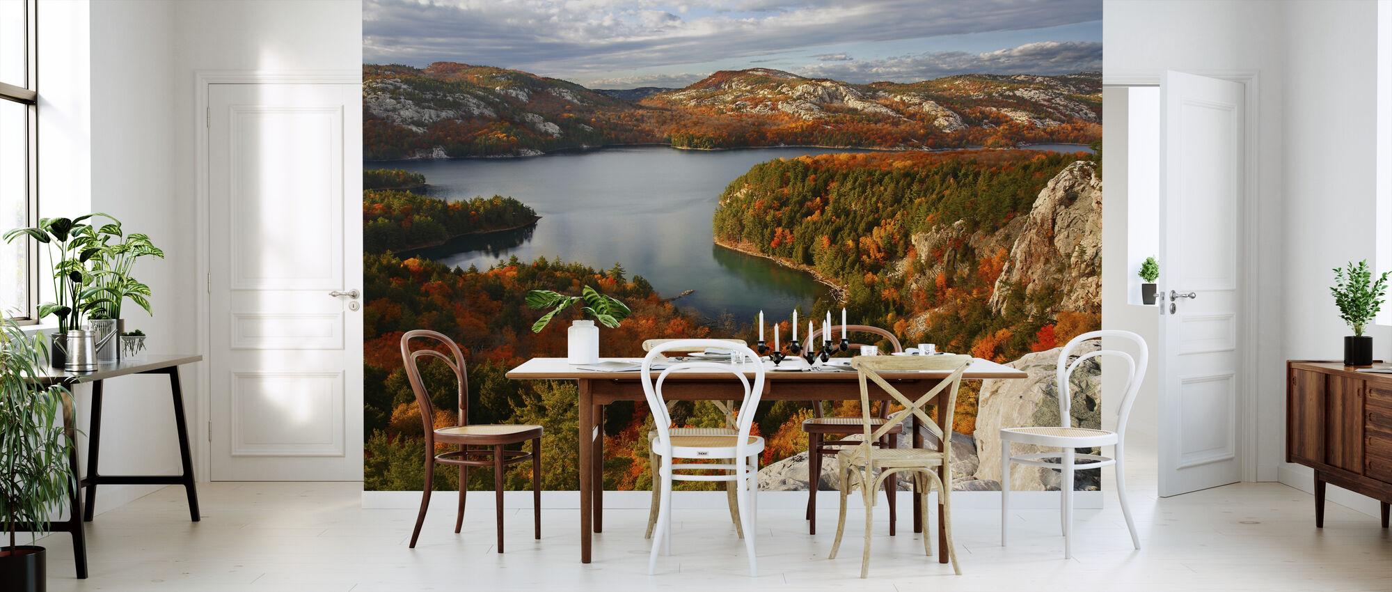 Fall at Killarney Lake - Wallpaper - Kitchen