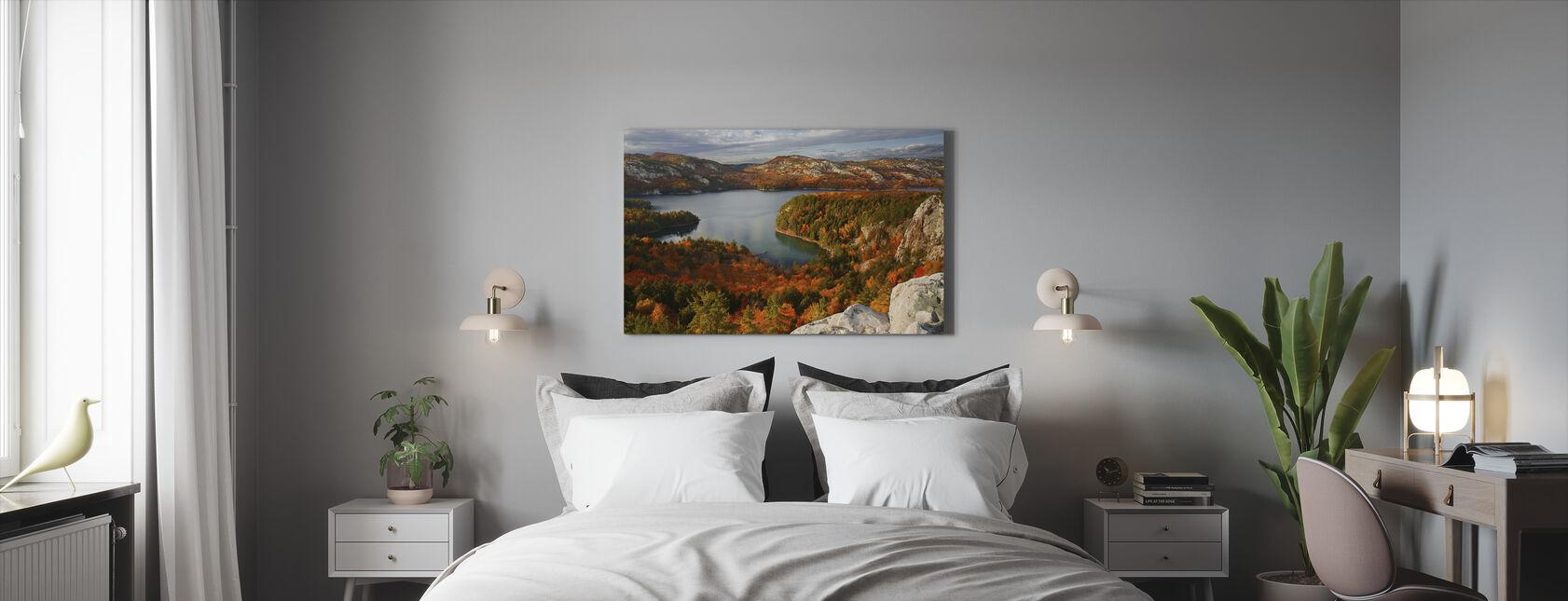 Fall at Killarney Lake - Canvas print - Bedroom