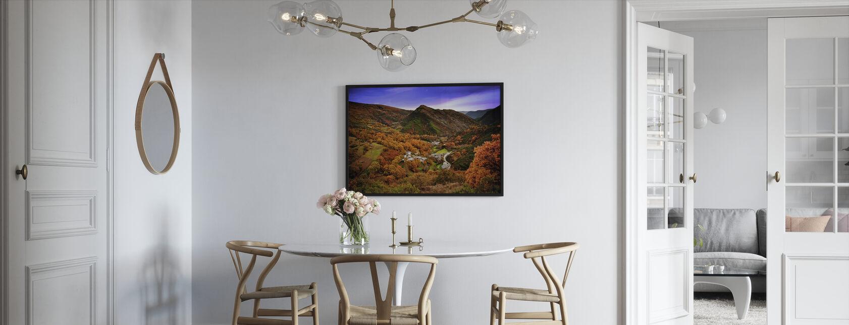 Great Autumn Scenery - Framed print - Kitchen