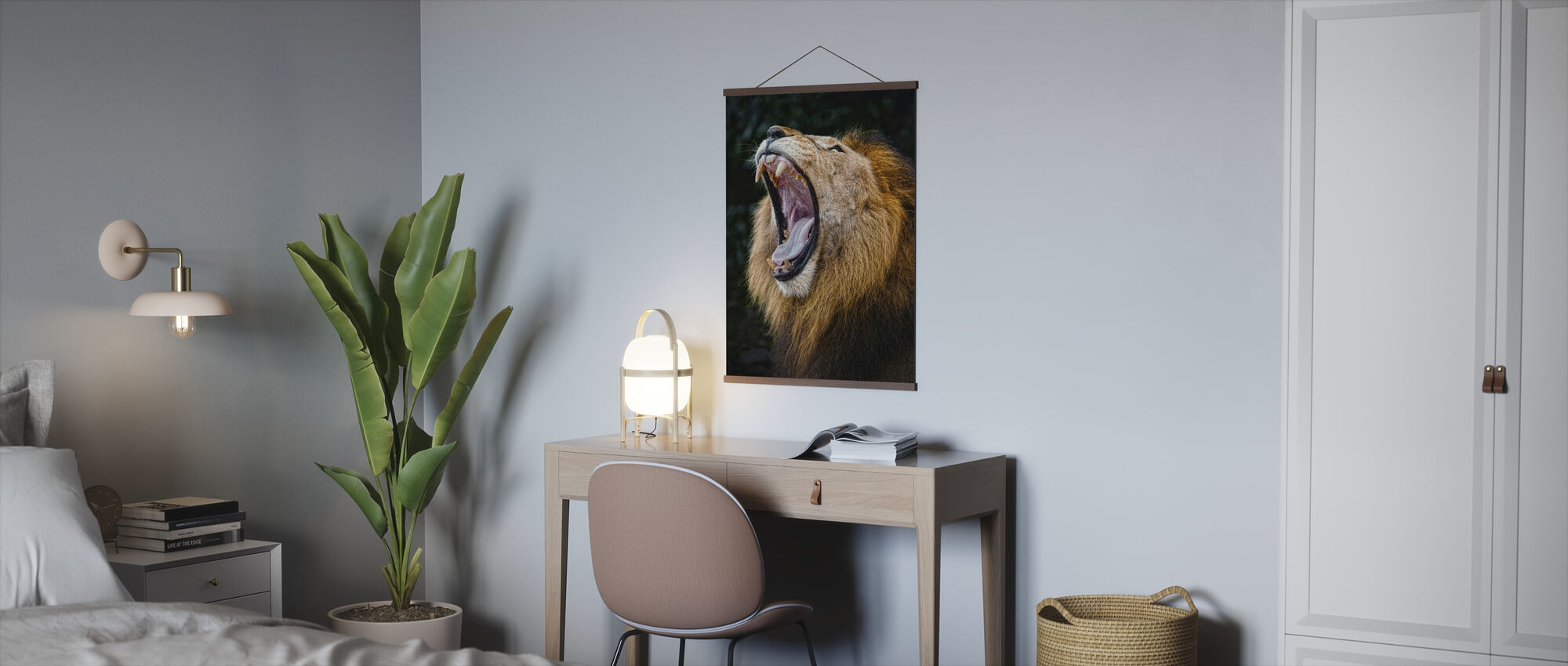 African Lion - Poster - Office
