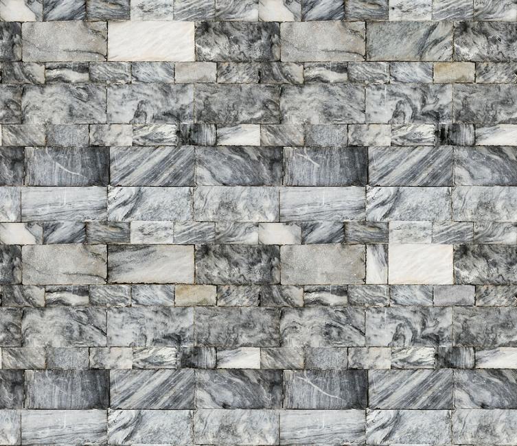 Marble Stone Wall Fototapeter & Tapeter 100 x 100 cm