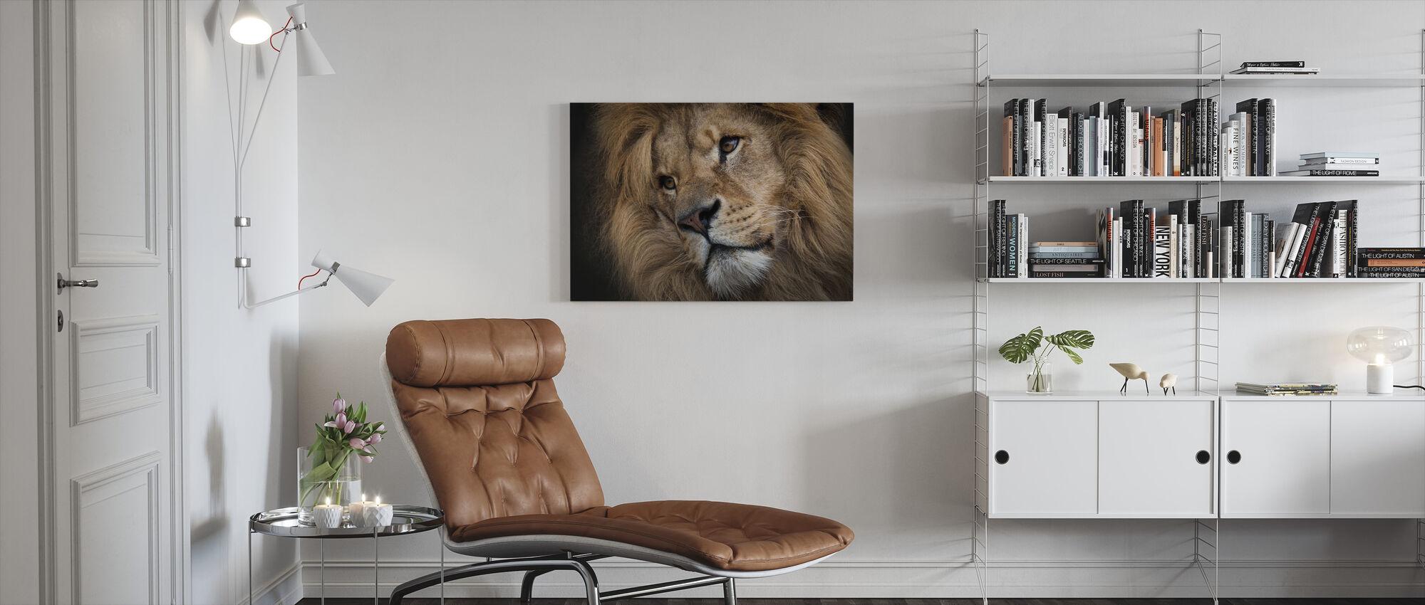 Leo. - Ja - Canvas print - Woonkamer