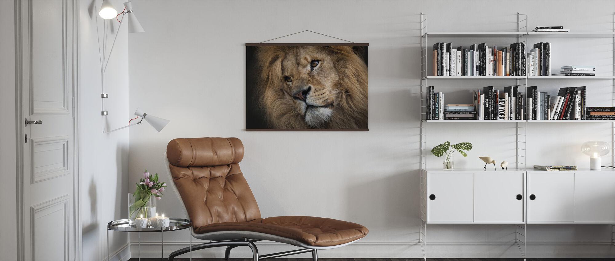 Leo - Poster - Living Room