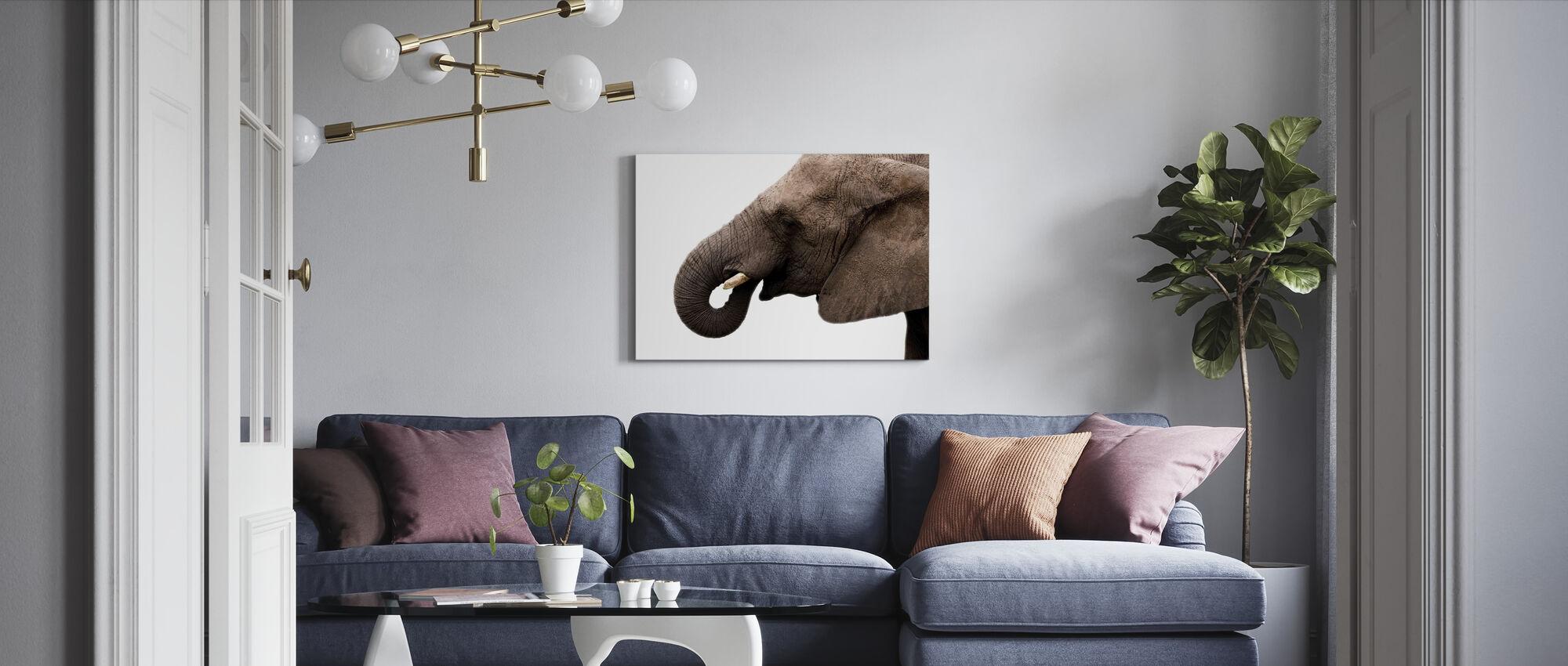 Mr Trunk - Canvas print - Living Room