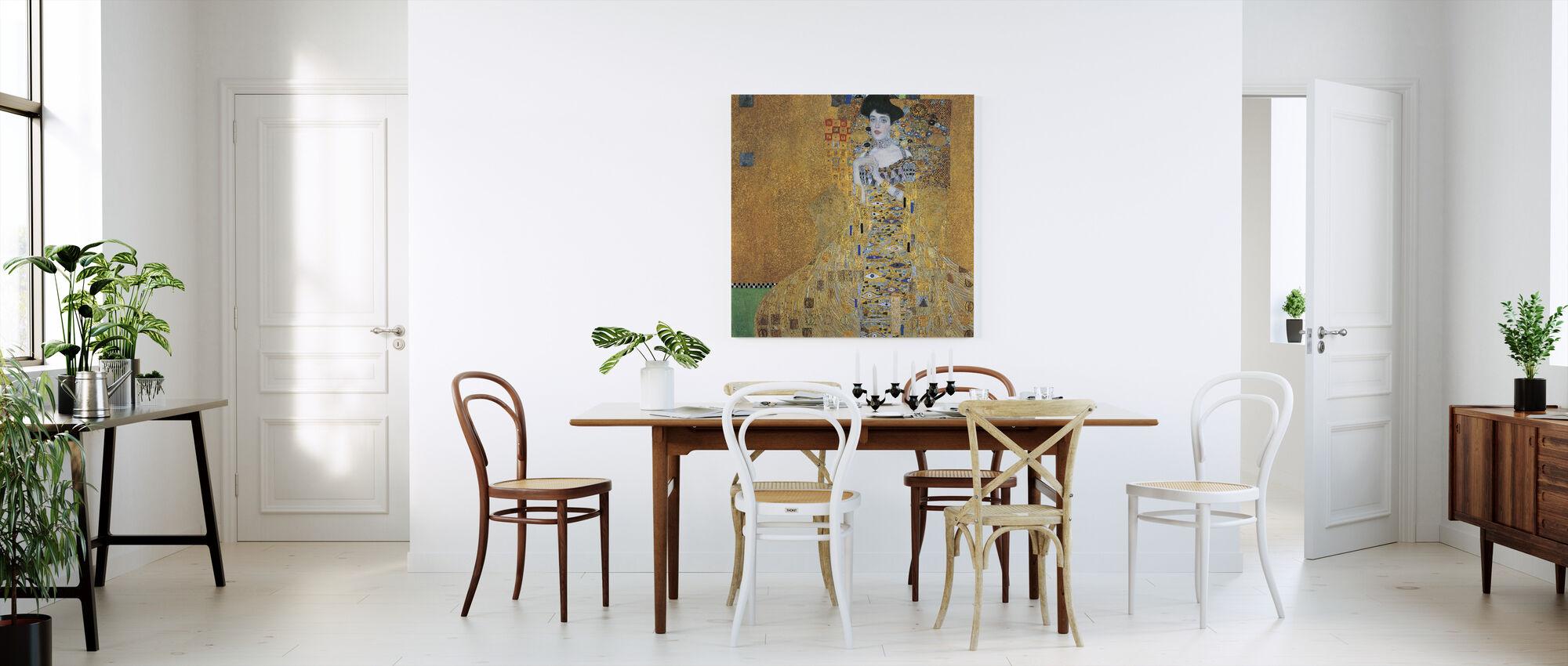 Klimt, Gustav - Adele Bloch-Bauer I - Canvas print - Kitchen