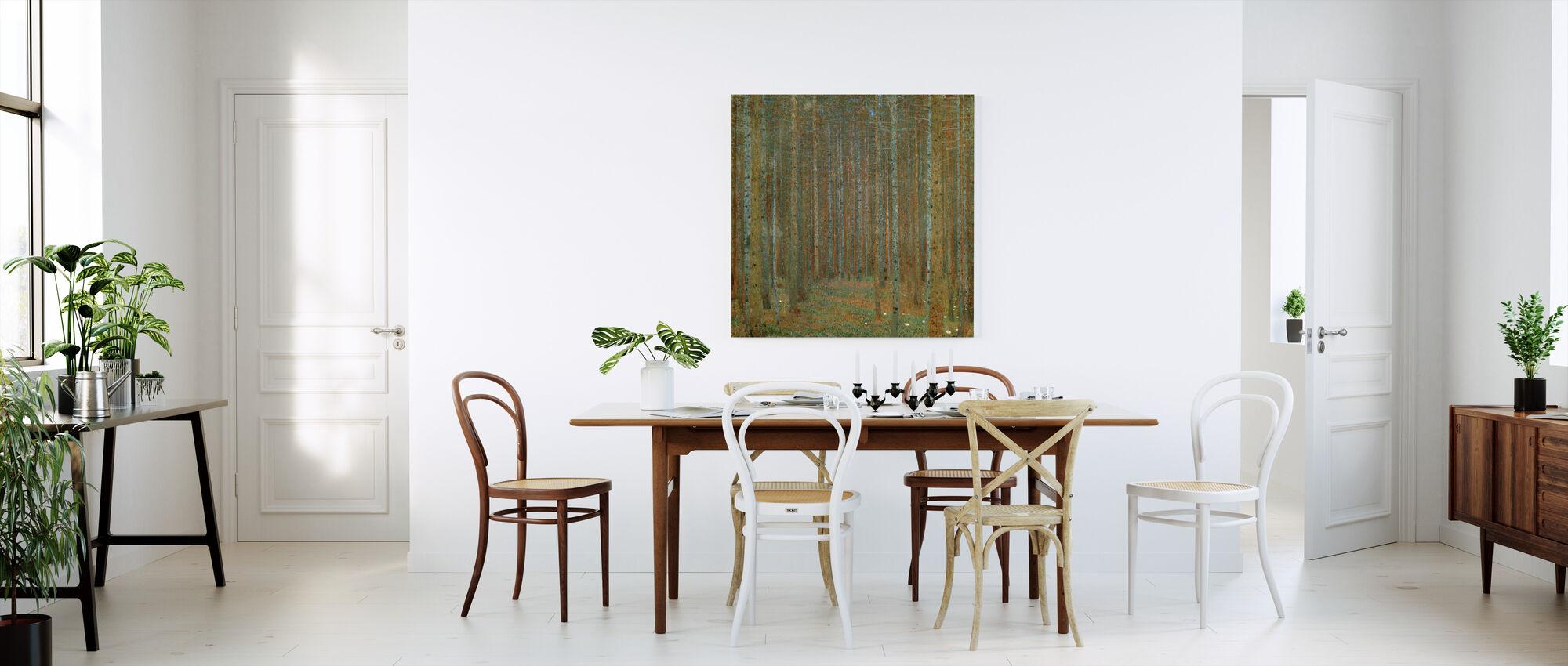 Klimt, Gustav - Fir Forest I - Canvas print - Kitchen