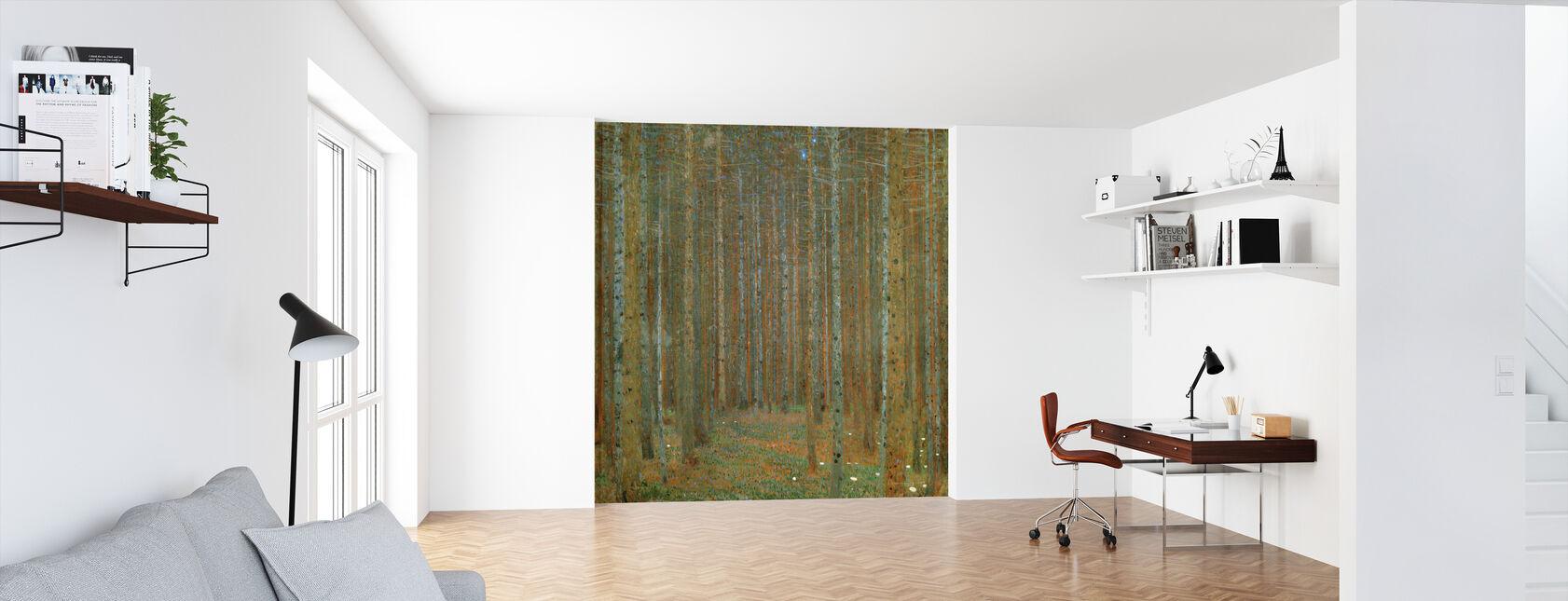 Klimt, Gustav - Fir Forest I - Wallpaper - Office