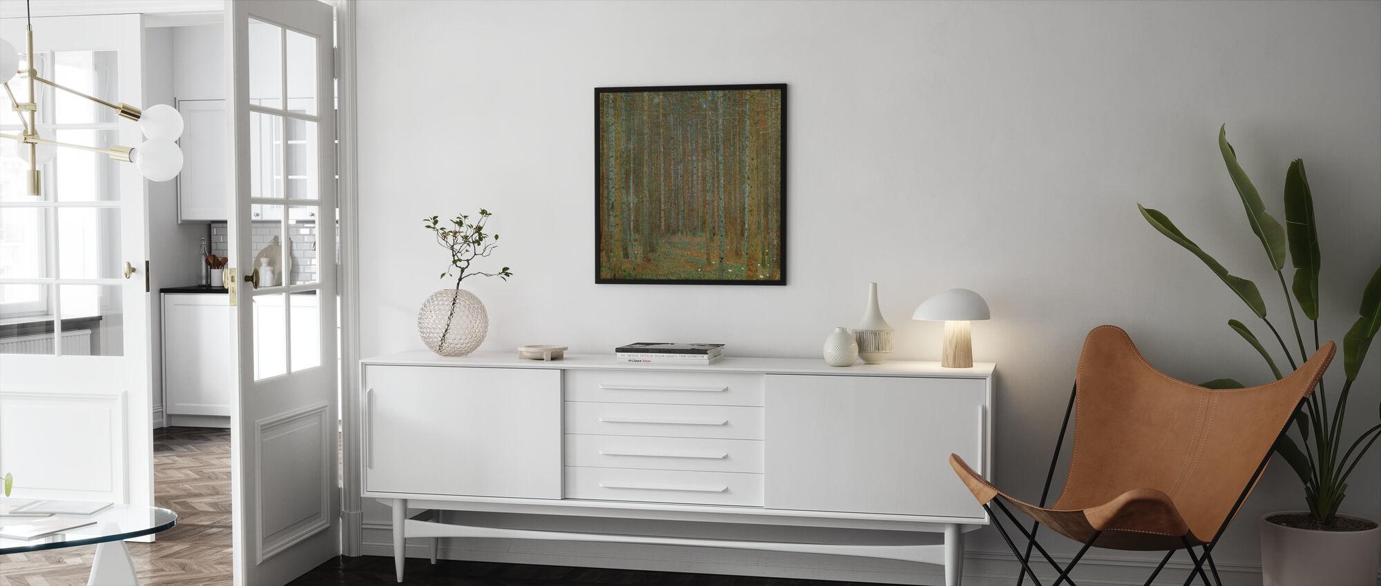 Klimt, Gustav - Fir Forest I - Framed print - Living Room
