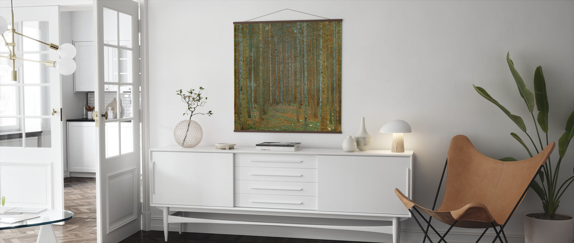 Klimt, Gustav - Spar Bos I - Poster - Woonkamer