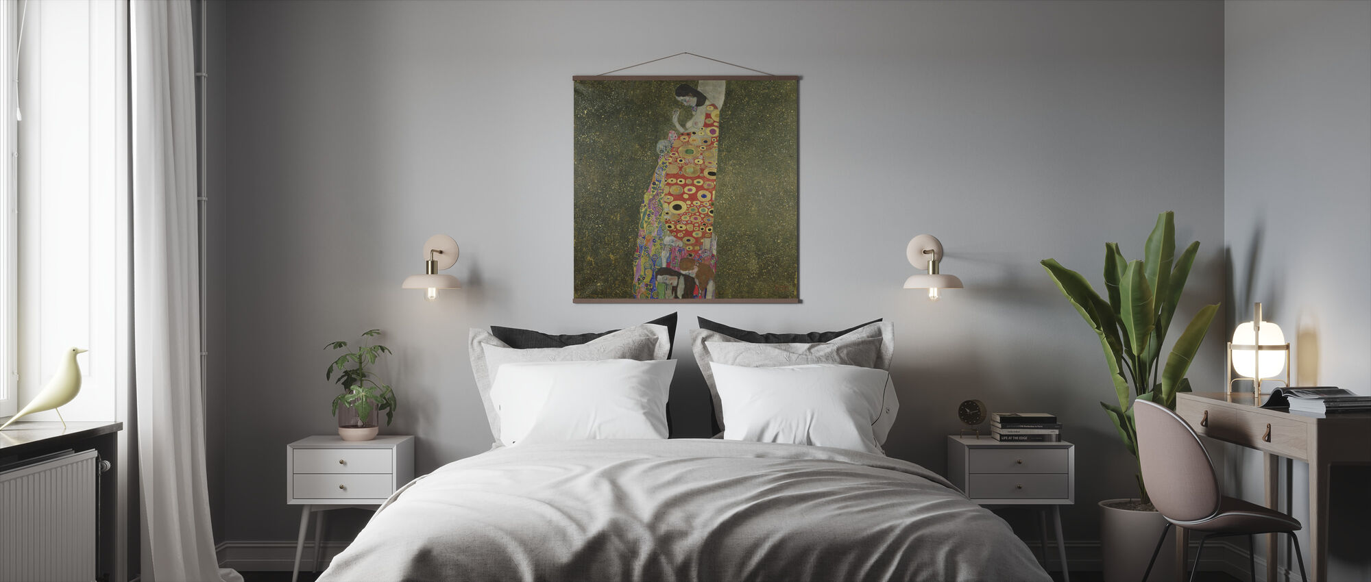 Klimt, Gustav - Hope II - Poster - Bedroom