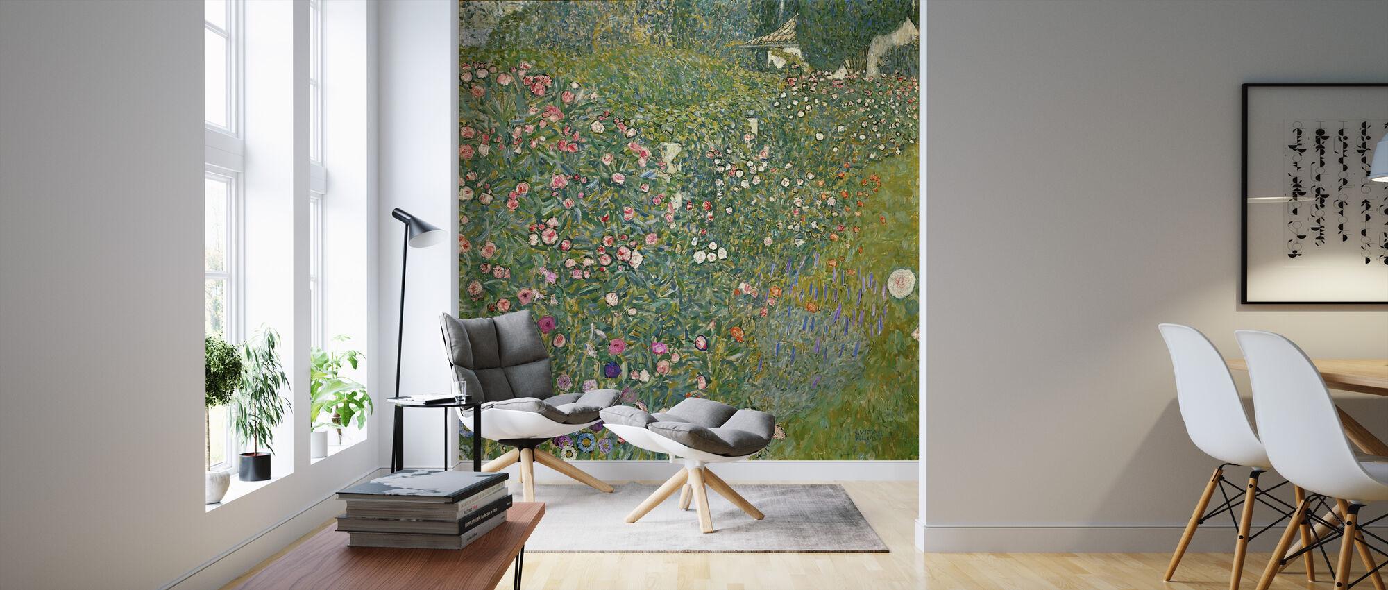 Klimt, Gustav - Italian Garden Landscape - Wallpaper - Living Room