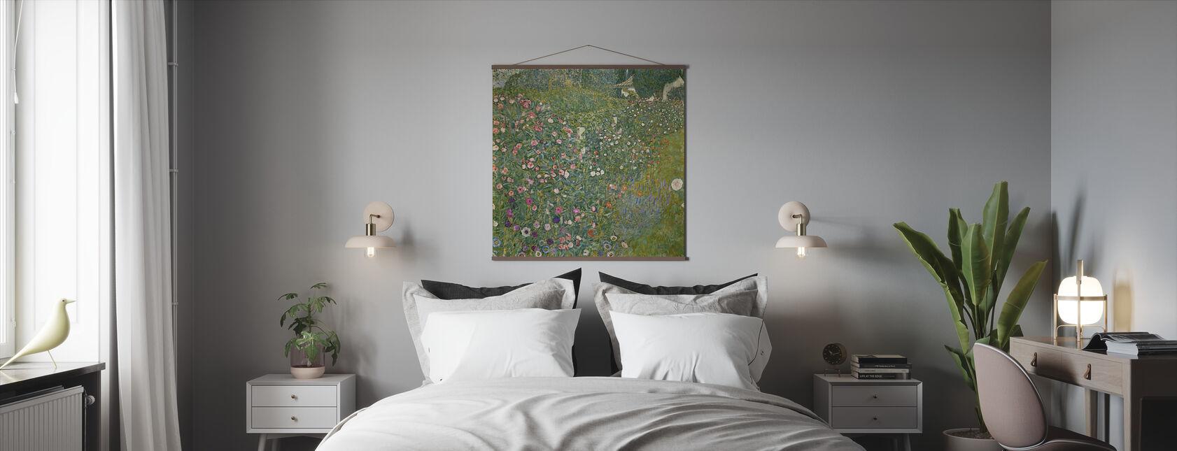 Klimt, Gustav - Italiensk Trädgård Landskap - Poster - Sovrum