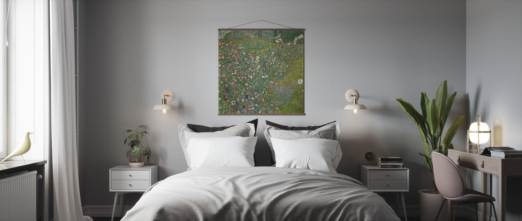 Klimt, Gustav - Paysage de jardin italien - Affiche - Chambre