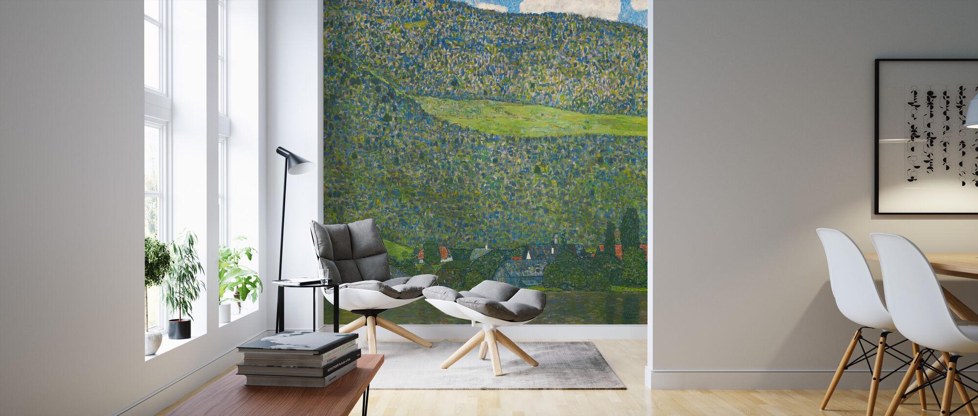 Klimt, Gustav - Litzlberg on the Attersee - Wallpaper - Living Room