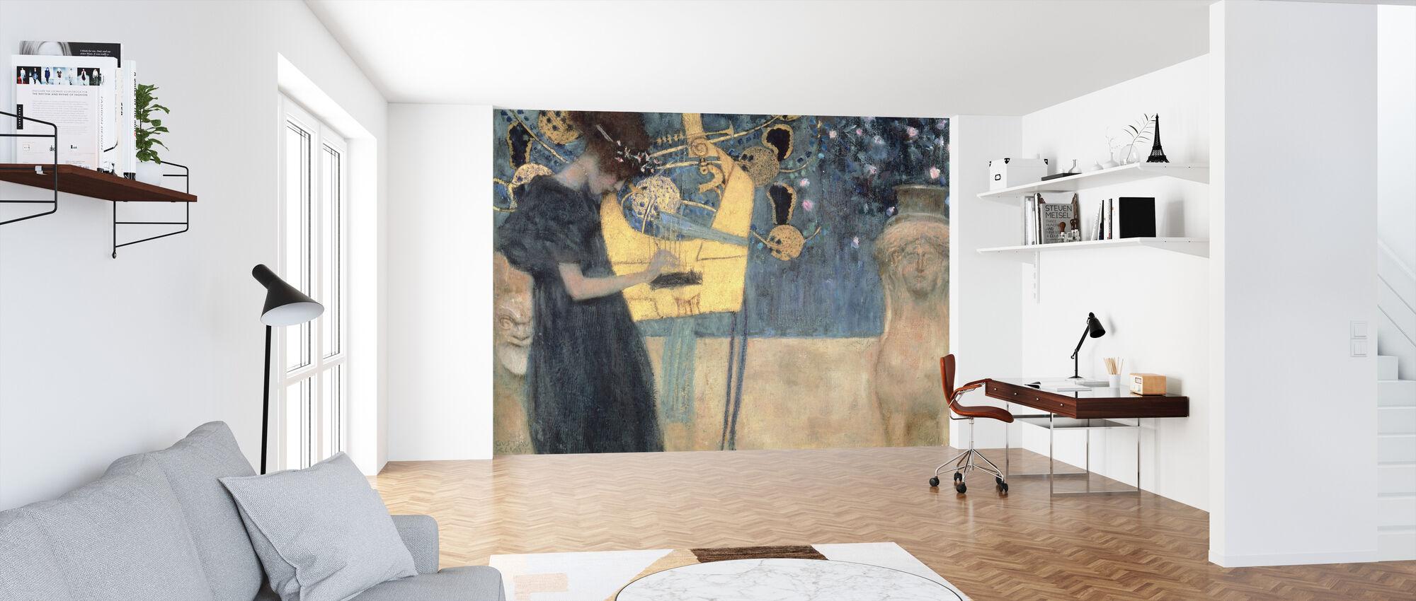 Klimt, Gustav - Muziek - Behang - Kantoor