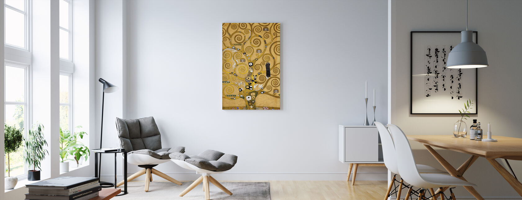 Klimt, Gustav - The Tree of Life - Canvas print - Living Room
