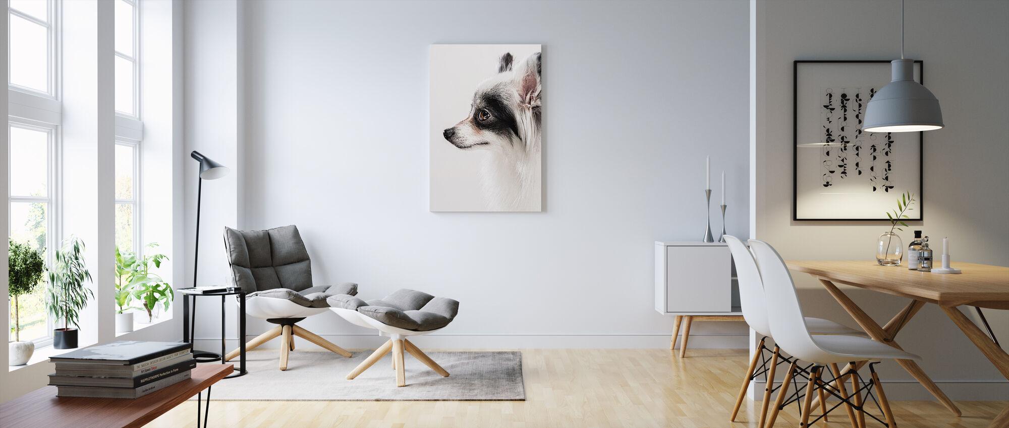 Pomeranian Dog - Canvas print - Living Room