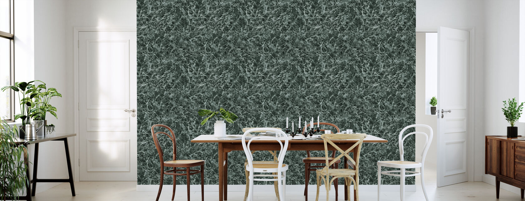 Green Marble - Wallpaper - Kitchen