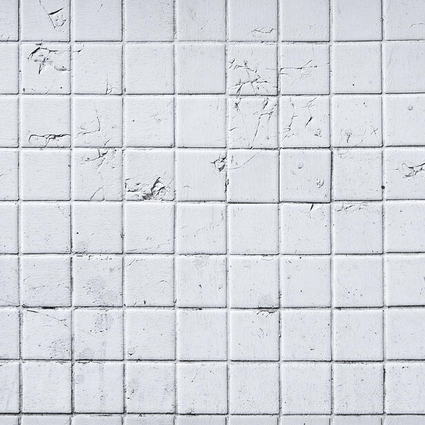 White Ceramic Tiles X Antracit Seam Wallpaper For Every Room - 10x10 white ceramic tiles