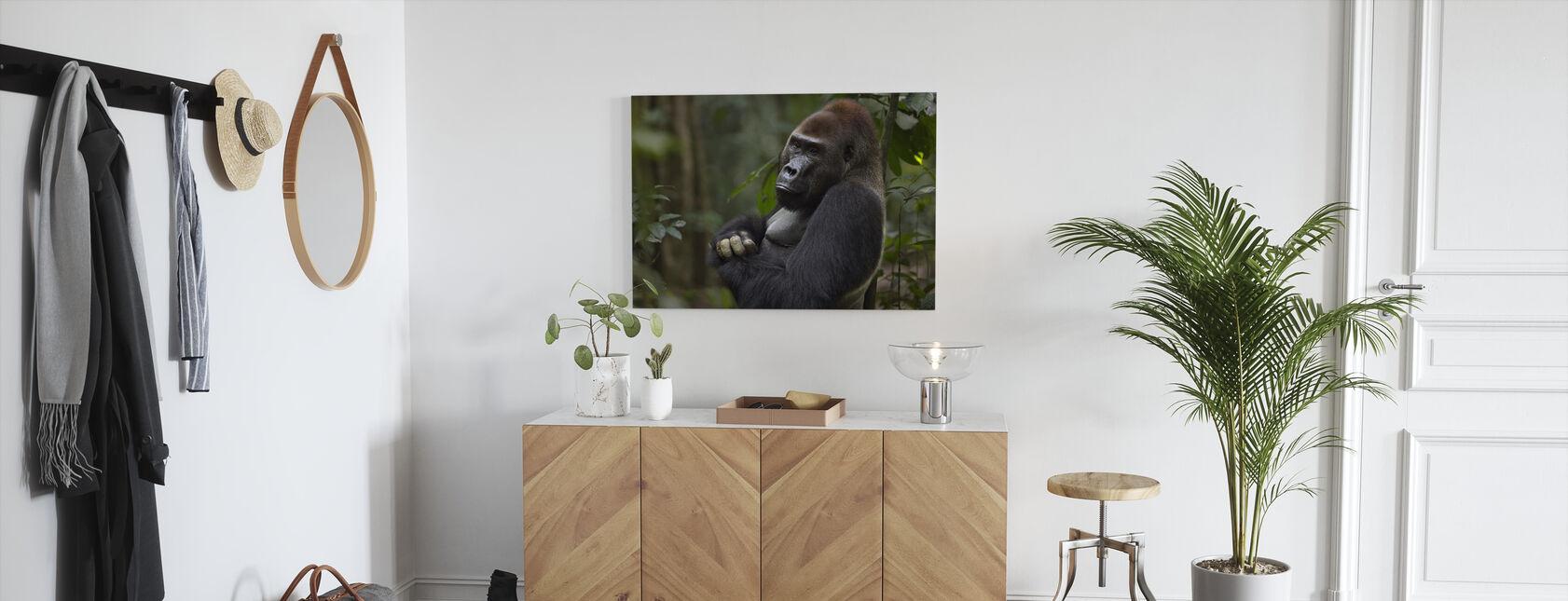 Silverback Portret - Canvas print - Gang