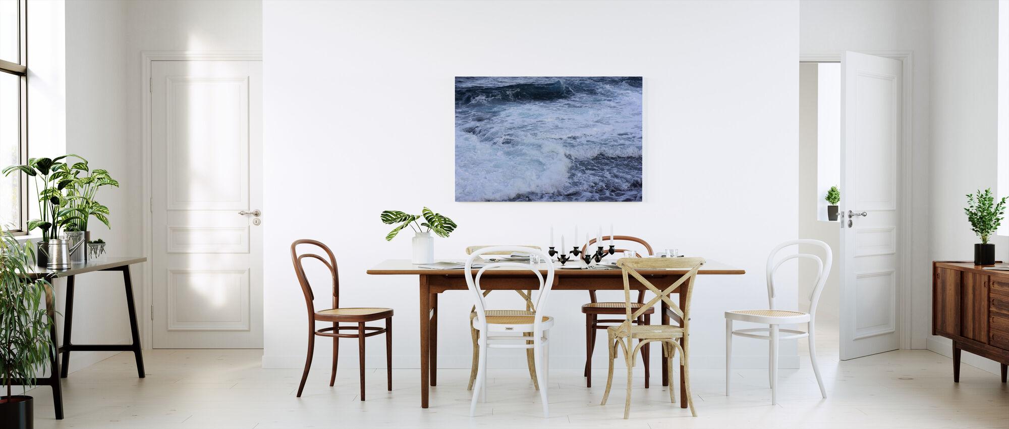 Crashing Waves - Canvas print - Kitchen