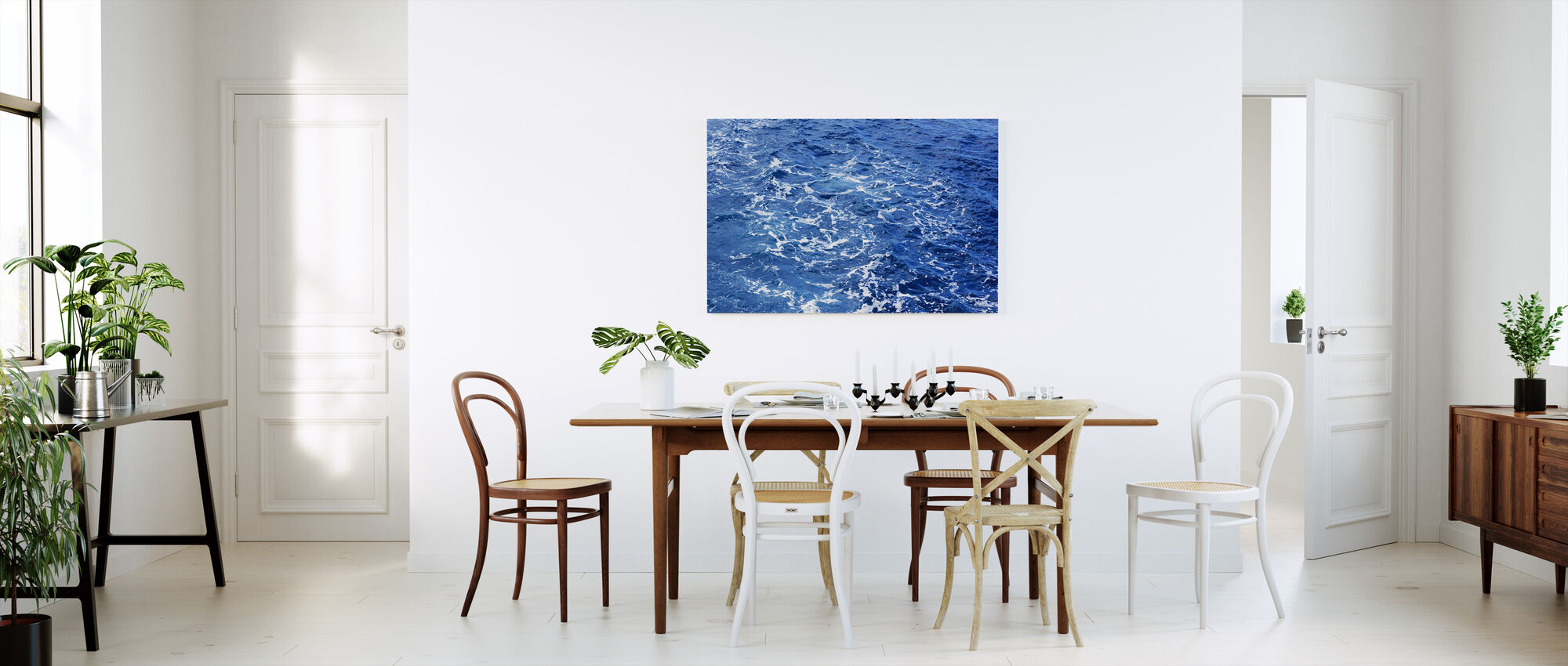 Sea Marble - Canvas print - Kitchen