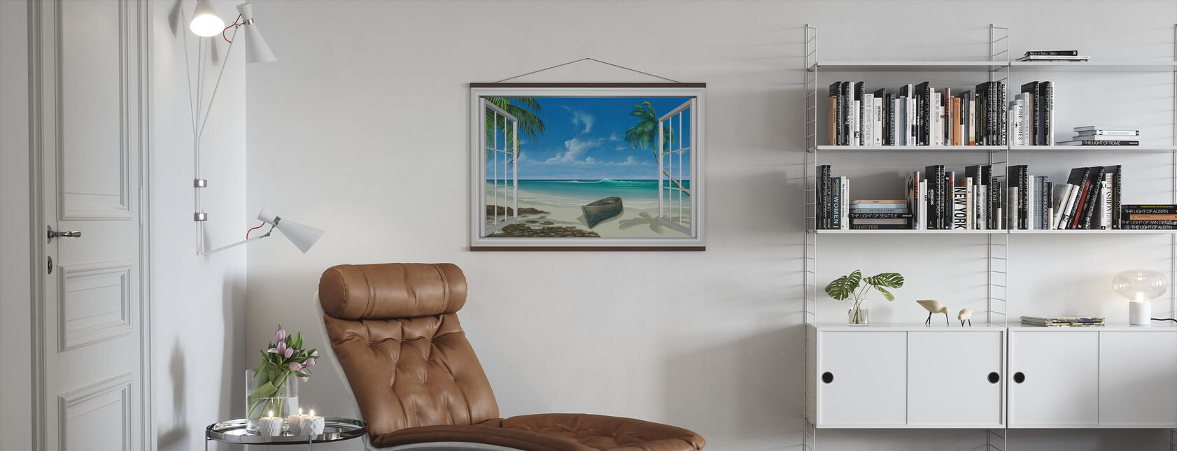 Escape to Paradise - Poster - Living Room